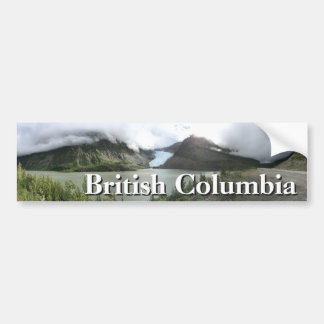 ブリティッシュ・コロンビアの氷河 バンパーステッカー