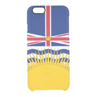 ブリティッシュ・コロンビアの澄んなiPhoneの場合の旗 クリアiPhone 6/6Sケース