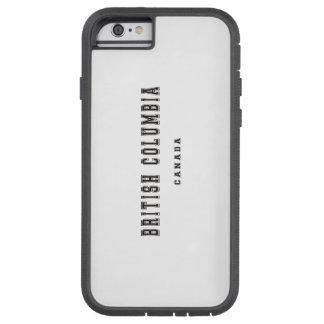 ブリティッシュ・コロンビアカナダ TOUGH XTREME iPhone 6 ケース
