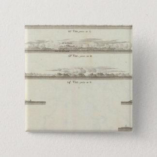 ブリティッシュ・コロンビア3 5.1CM 正方形バッジ