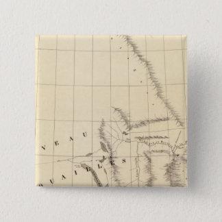 ブリティッシュ・コロンビア、アルバータ24 5.1CM 正方形バッジ