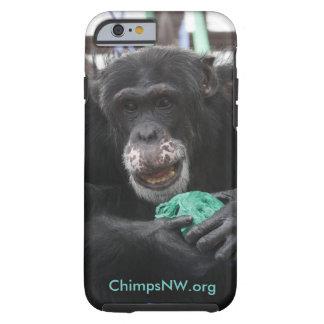 ブリトーのチンパンジーのSeahawksのiPhoneの携帯電話の箱 ケース
