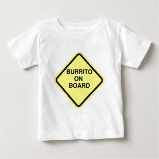 ブリトー船上に ベビーTシャツ