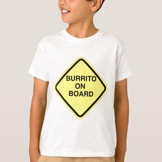 ブリトー船上に Tシャツ