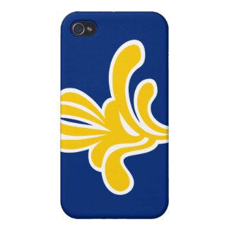 ブリュッセルベルギーの旗のiPhoneの懸命の場合 iPhone 4/4S Cover