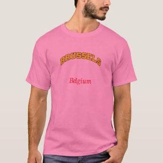 ブリュッセルベルギーのTシャツ Tシャツ