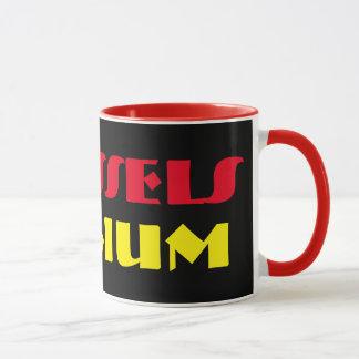 ブリュッセルモダンなベルギーのマグ マグカップ