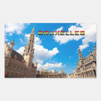ブリュッセル01E 長方形シール