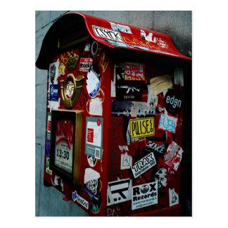 ブリュッセル: ステッカーの箱かポストか。 ポストカード