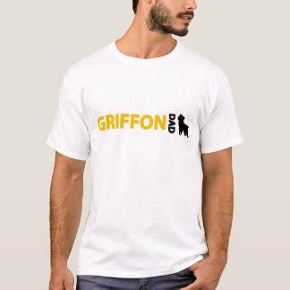 ブリュッセルGriffonのパパ Tシャツ