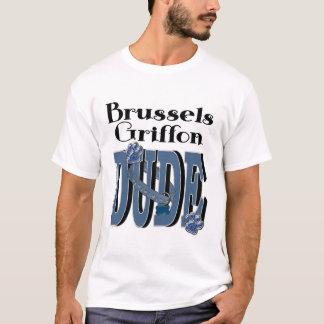 ブリュッセルGriffonの男 Tシャツ