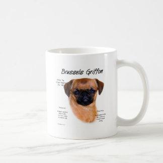 ブリュッセルGriffonの(滑らかな)歴史のデザイン コーヒーマグカップ