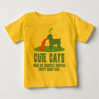ブリュッセルGriffon ベビーTシャツ
