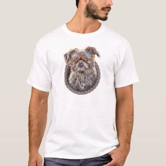 ブリュッセルGriffon 001 Tシャツ