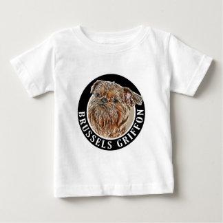 ブリュッセルGriffon 002 ベビーTシャツ