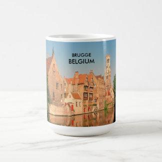 ブリュッヘ、ベルギー コーヒーマグカップ