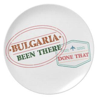 ブルガリアそこにそれされる プレート