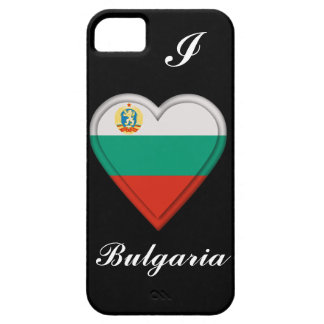 ブルガリアのブルガリア人の旗 iPhone SE/5/5s ケース