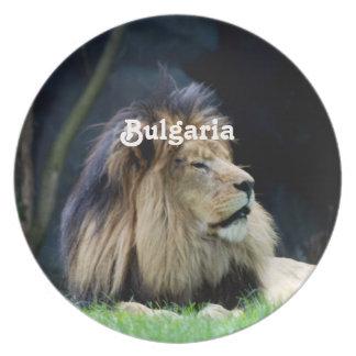 ブルガリアのライオン プレート