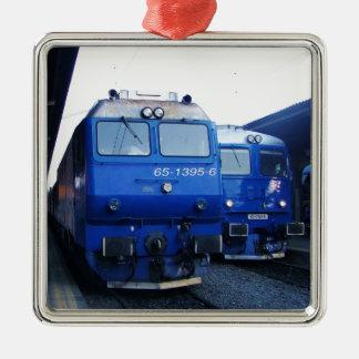 ブルガリアの列車 メタルオーナメント