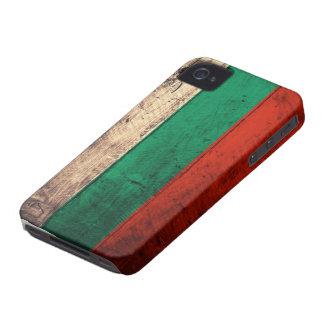 ブルガリアの古い木の旗 Case-Mate iPhone 4 ケース