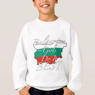 ブルガリアの女の子は最も最高のなそれをします! スウェットシャツ