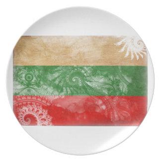 ブルガリアの旗 プレート