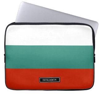 ブルガリアの旗 ラップトップスリーブ