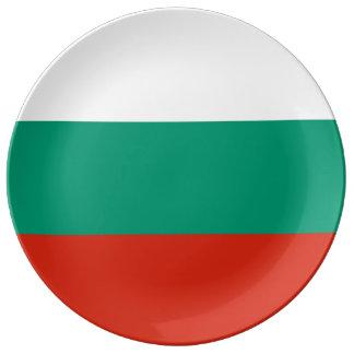 ブルガリアの旗 磁器プレート