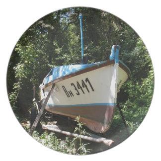 ブルガリアの漁船 プレート