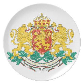 ブルガリアの紋章付き外衣 プレート