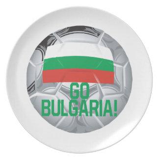 ブルガリアは行きます プレート