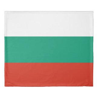ブルガリアまたはブルガリア語の旗 掛け布団カバー