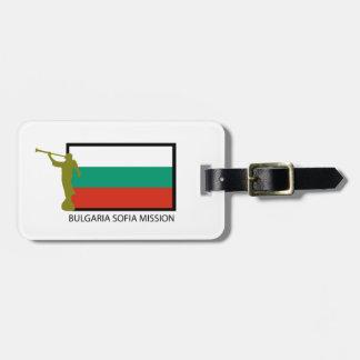 ブルガリアソフィアの代表団LDS CTR ラゲッジタグ