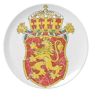 ブルガリア少し紋章付き外衣 プレート