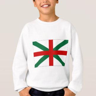 ブルガリア海軍ジャックの旗 スウェットシャツ