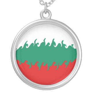 ブルガリア|すごい|旗 ペンダント