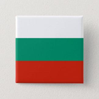 ブルガリア 5.1CM 正方形バッジ