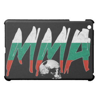 ブルガリアMMAのスカルの黒のiPadの場合 iPad Mini カバー