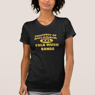 ブルガリアXXLのフォーク・ミュージックバンド Tシャツ