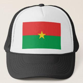ブルキナファソの旗の帽子 キャップ