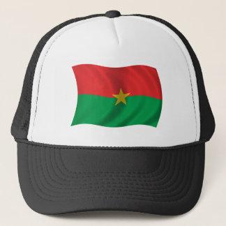 ブルキナファソの旗 キャップ