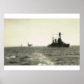 ブルターニュのクラスの戦艦、一流の小艦隊 ポスター