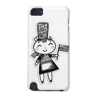 ブルターニュの女の子 iPod TOUCH 5G ケース