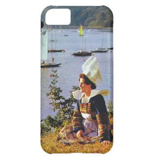 ブルターニュの衣裳の女性 iPhone5Cケース