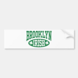 ブルックリンのアイルランド語 バンパーステッカー
