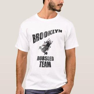 ブルックリンのボブスレーのチームTシャツ Tシャツ