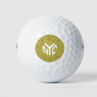 ブルックリンの地下鉄トークン ゴルフボール