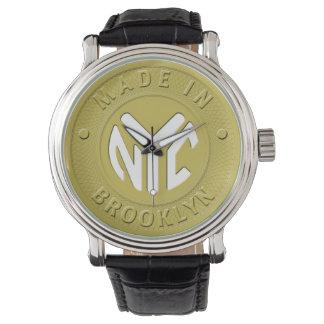 ブルックリンの地下鉄トークン 腕時計