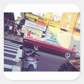 ブルックリンの夏 スクエアシール